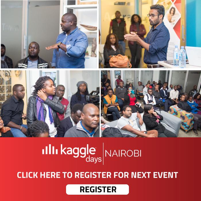 Kaggle Days Nairobi with Saikumar Allaka